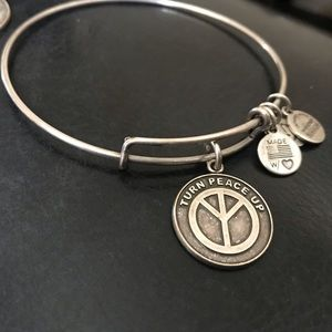 Alex and Ani Turn Peace Up